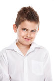 Standing young cool boy Royalty Free Stock Image
