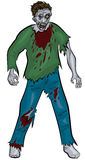 Standing zombie Royalty Free Stock Image