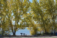 Standley Lake Regional Park stock photography