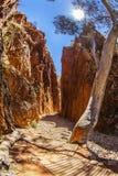 Standley otchłań lokalizować za zachód od Alice Springs w terytorium północnym, Australia (Angkerle) Zdjęcia Stock
