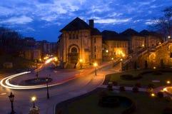 Standort ?der gelben Klippe? von Iasi - Rumänien Stockfotografie