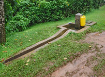Standpipe at the Bwindi National Park Stock Image