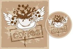 Standplatz für den Kaffee Lizenzfreie Abbildung