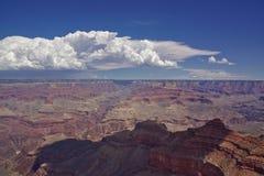 Standpunkt über Grand Canyon lizenzfreies stockbild