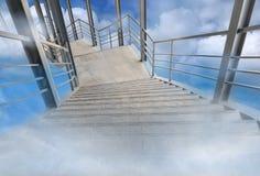 Standpunkt auf der Luft Lizenzfreie Stockfotografie