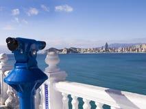 Standpunkt in Benidorm Spanien Lizenzfreies Stockbild