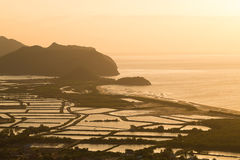 Standpunkt Khao Daeng in Nationalpark Khao Sam Roi Yot Lizenzfreies Stockbild
