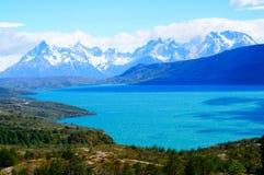 Standpunkt am Patagonia Lizenzfreies Stockfoto