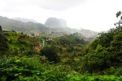 Standpunkt Pico tun Facho auf der Insel Madeira Lizenzfreie Stockbilder