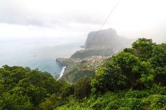 Standpunkt Pico tun Facho auf der Insel Madeira Lizenzfreie Stockfotos