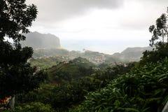 Standpunkt Pico tun Facho auf der Insel Madeira Lizenzfreie Stockfotografie