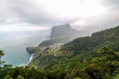 Standpunkt Pico tun Facho auf der Insel Madeira Lizenzfreies Stockfoto