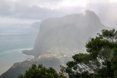 Standpunkt Pico tun Facho auf der Insel Madeira Stockfotografie