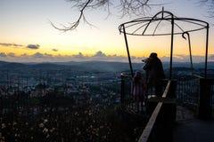 Standpunkt-Schongebiet von Bom Jesus de Braga Stockbild