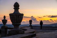 Standpunkt-Schongebiet von Bom Jesus de Braga Lizenzfreie Stockfotografie