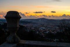 Standpunkt-Schongebiet von Bom Jesus de Braga Lizenzfreie Stockfotos