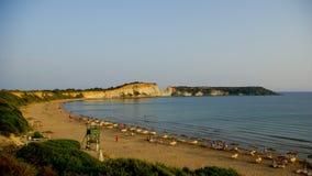 Standpunkt von gerakas setzen in der Insel von Zakynthos auf den Strand Stockfoto