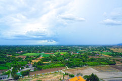 Standpunkt von Kanchanaburi Stockfotos