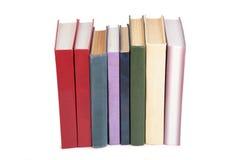 stands för bokbunt arkivbild