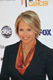 The Stands,Katie Couric Stock Image