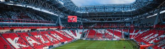 Stands Kazan Arena. Photo stands of football stadium Kazan Arena in Kazan Royalty Free Stock Image