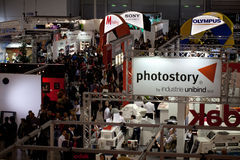 Stands At Photoshow Rome, 2012 Stock Image