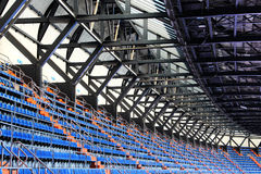 Stands and roof of a stadium, perspective Stock Photography