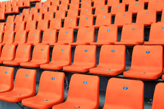 The stands Royalty Free Stock Photo