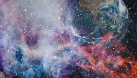 Stanfield bleu - éléments de cette image meublés par la NASA illustration de vecteur