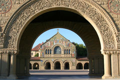 Stanford Campus. Campus in Palo Alto, Northern California Royalty Free Stock Photos