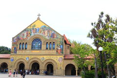 Stanford Church Arkivfoto