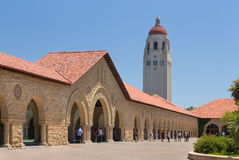 Stanford Courtyard Stock Photos