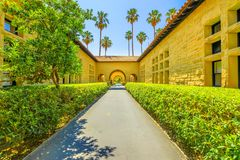Stanford Gate Palo Alto photographie stock