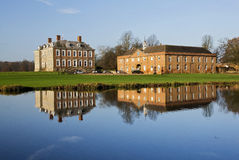 Stanford Hall reflected in The River Avon Royalty Free Stock Images