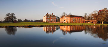 Stanford Hall reflected in The River Avon Royalty Free Stock Image