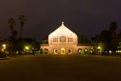 Stanford Memorial Church Stock Images
