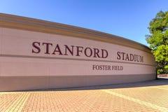 Stanford Stadium Lizenzfreies Stockfoto