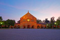 Stanford Univercity Church royalty free stock photography