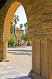 Stanford University. The beautiful campus of Stanford University in Palo Alto, California Royalty Free Stock Photo