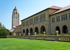 Stanford University. The beautiful campus of Stanford University in Palo Alto, California Stock Photography