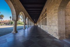 Stanford University Foto de Stock Royalty Free