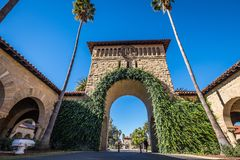 Stanford University Immagine Stock