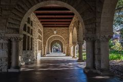 Stanford University Fotografie Stock