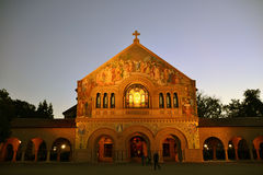 Stanford University Royaltyfri Foto