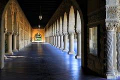 Stanford University, Californi? bij recente middag royalty-vrije stock foto's