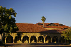 Stanford University, California. At late afternoon royalty free stock photos