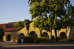 Stanford University, California. At late afternoon royalty free stock photography