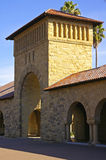 Stanford University, California. Architectural details columns and gate at Stanford University, California royalty free stock photography