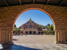 In Stanford University, California, U.S.A. Fotografie Stock Libere da Diritti
