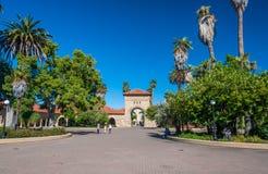 Stanford University Campus en Palo Alto, California fotografía de archivo